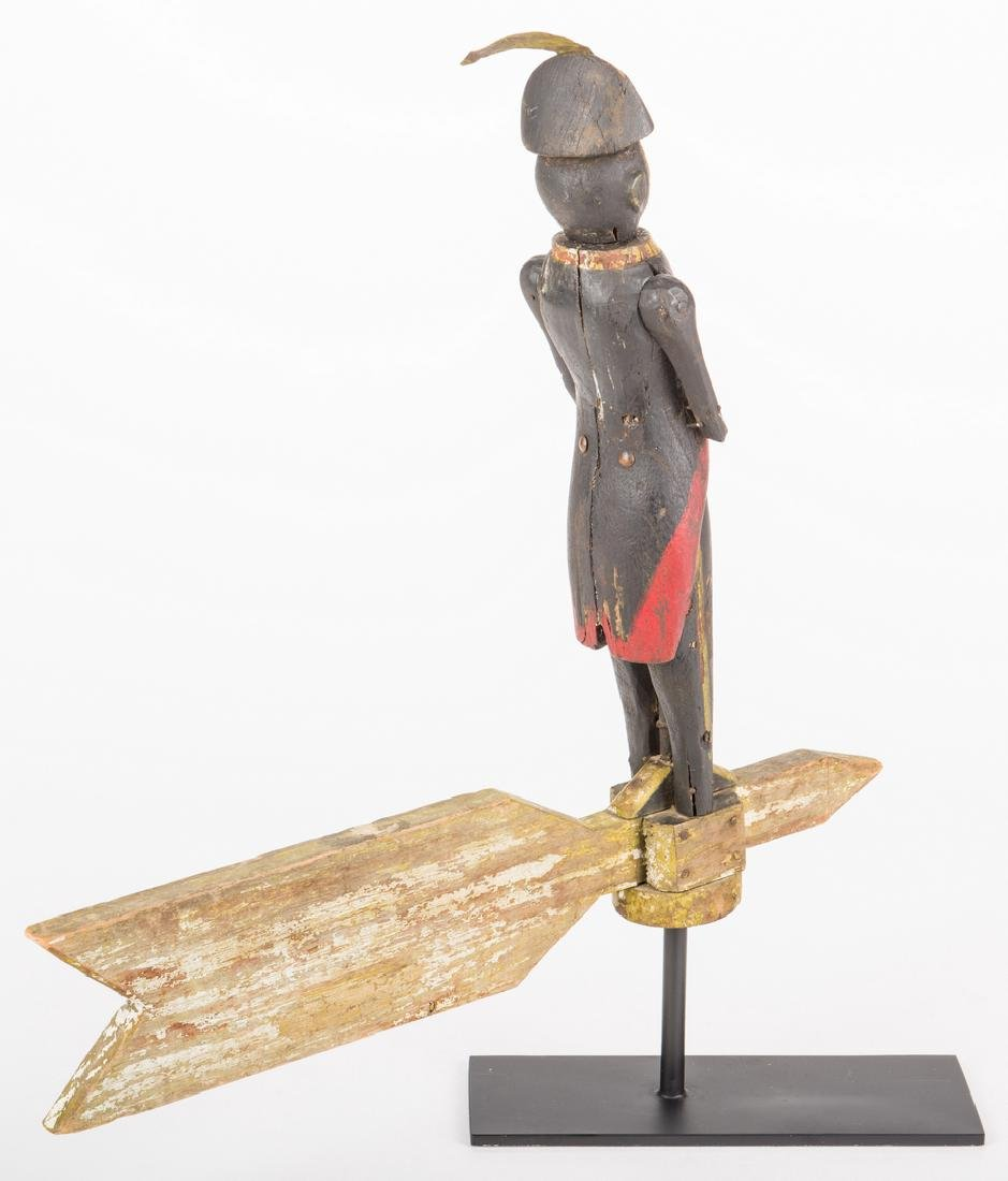 Folk Art Soldier Whirligig - 6
