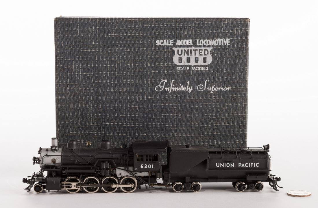 2 Boxed Brass Model Trains - 3