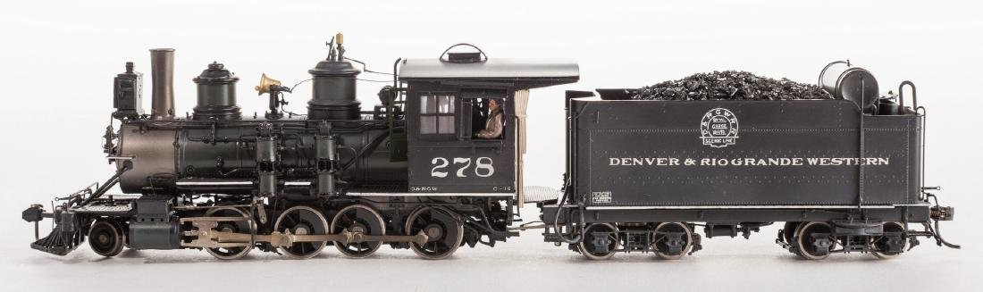2 Boxed Brass Model Trains - 9