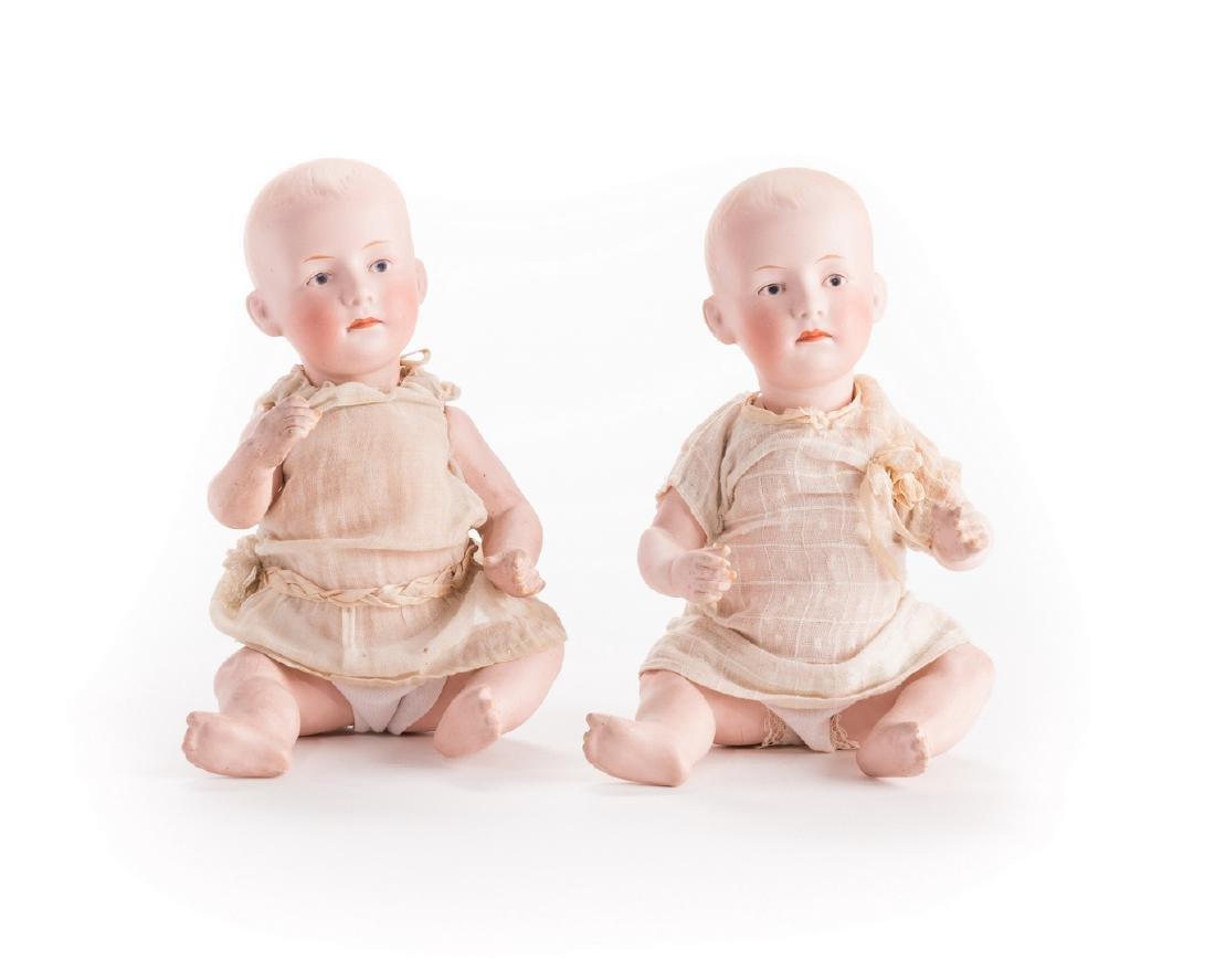 4 German Bisque Dolls, G. Heubach, S&H - 5