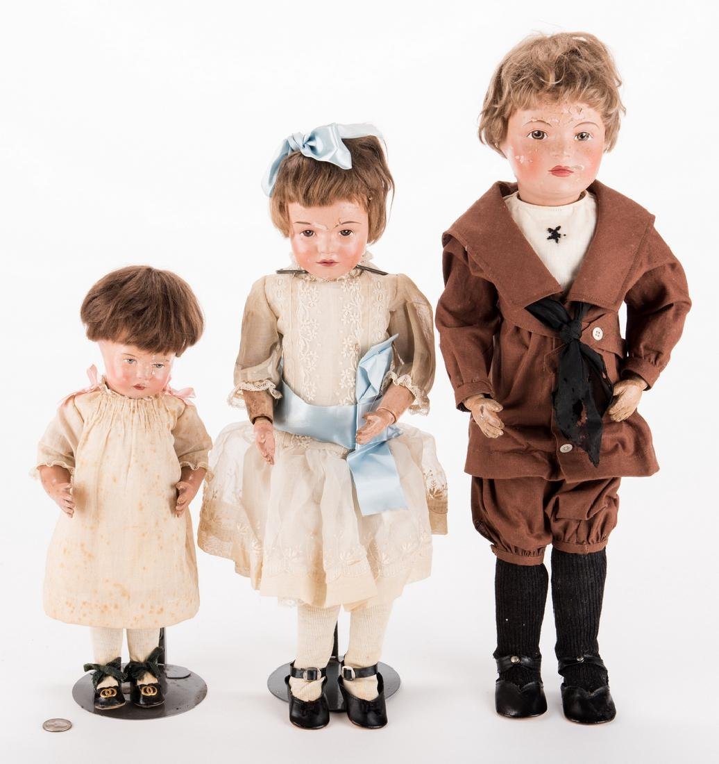 Group 3 Schoenhut Dolls