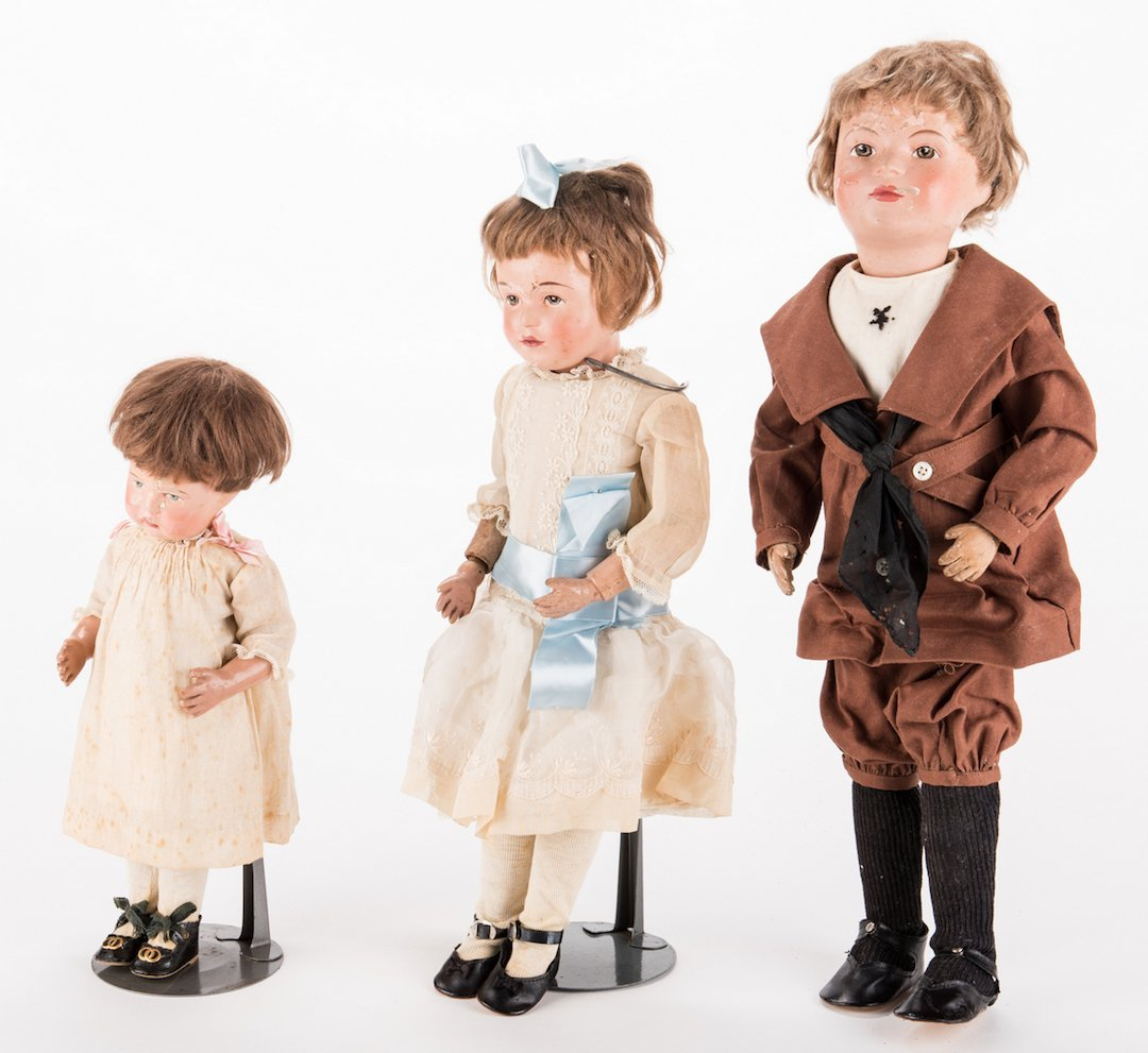 Group 3 Schoenhut Dolls - 7