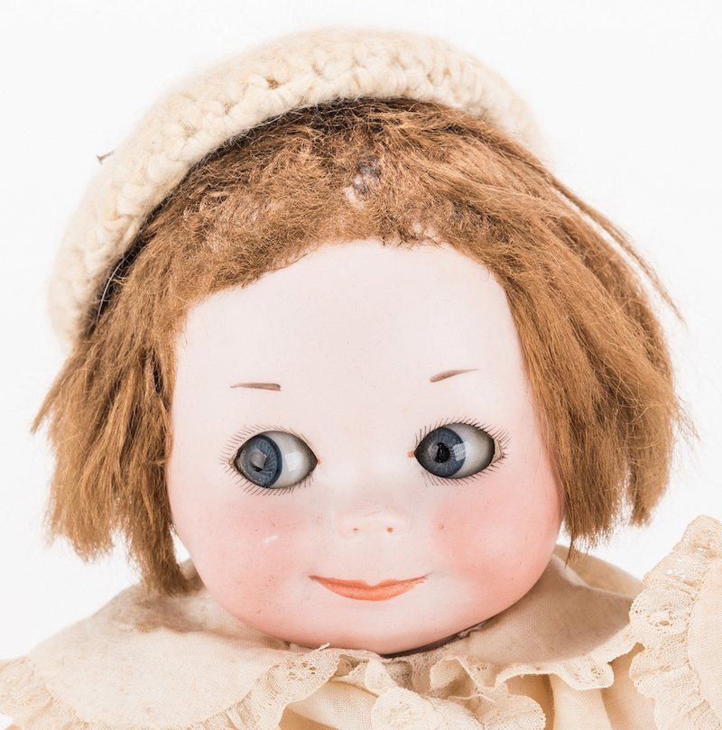 Nobby Kid Googly Bisque Doll - 3