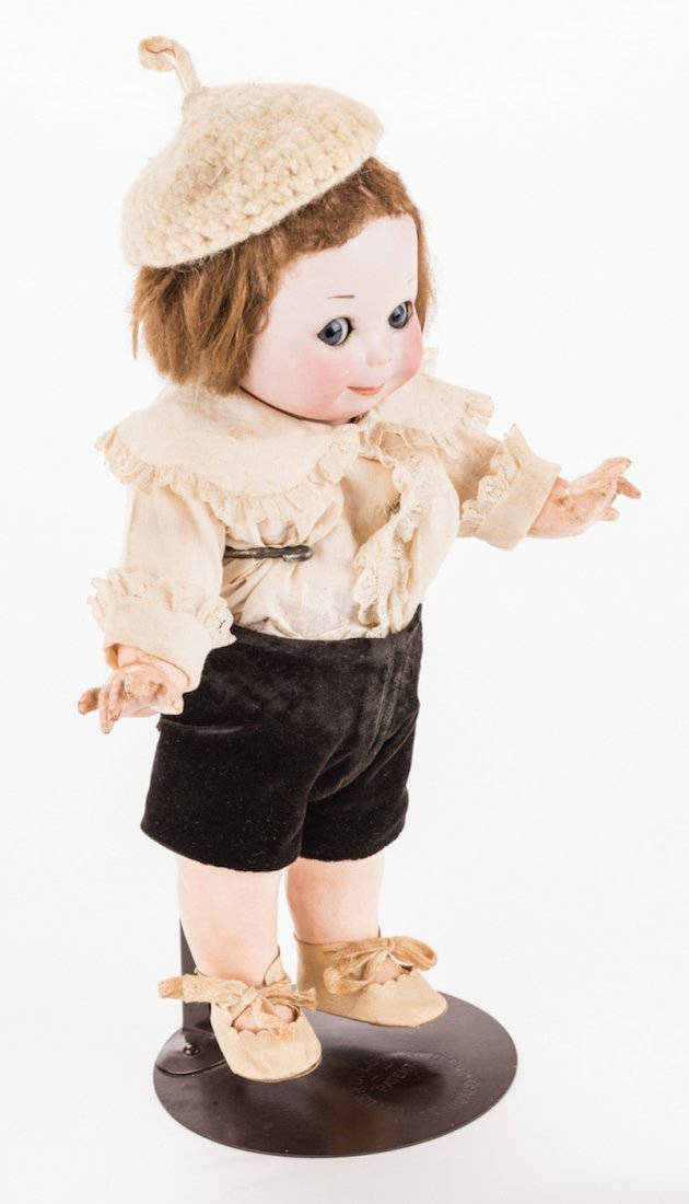 Nobby Kid Googly Bisque Doll - 4