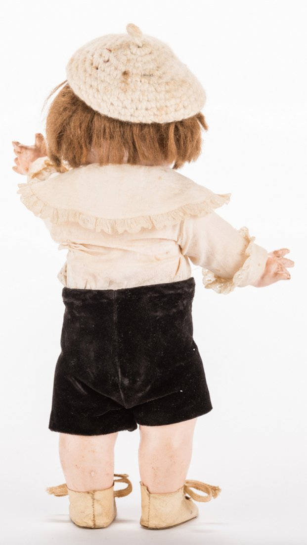 Nobby Kid Googly Bisque Doll - 5