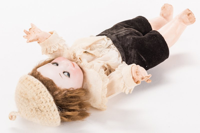 Nobby Kid Googly Bisque Doll - 8