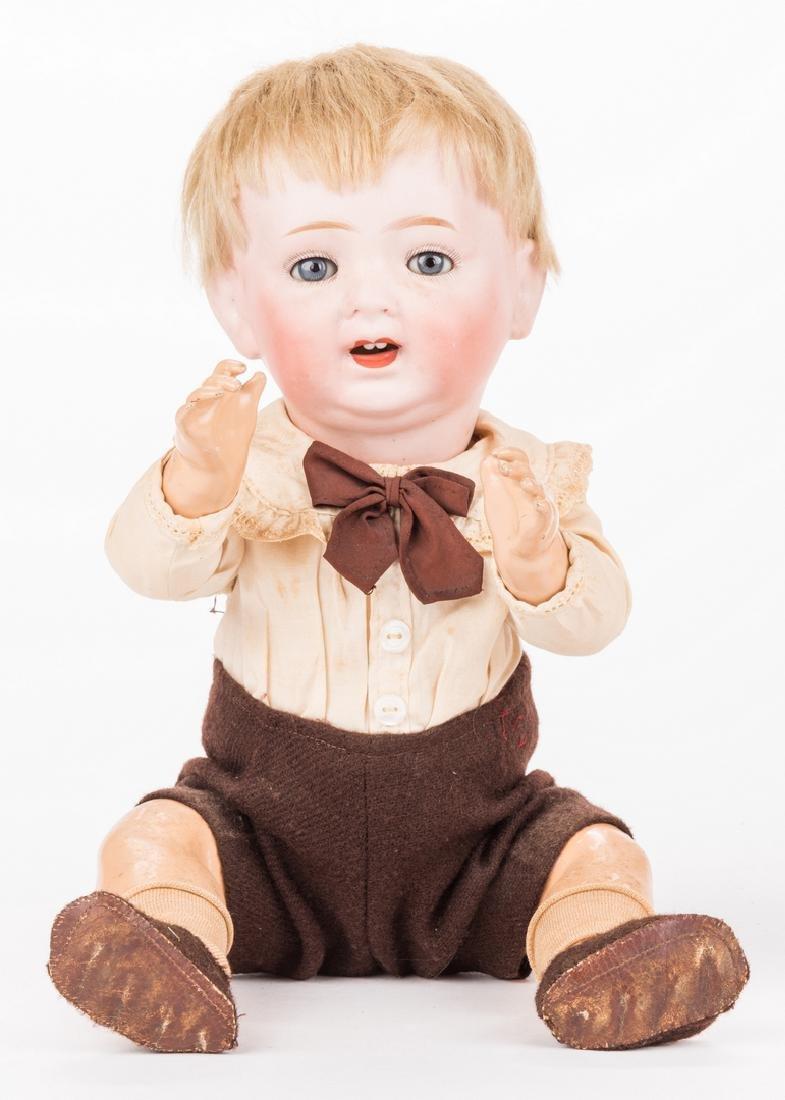 3 Male Bisque Dolls - 3
