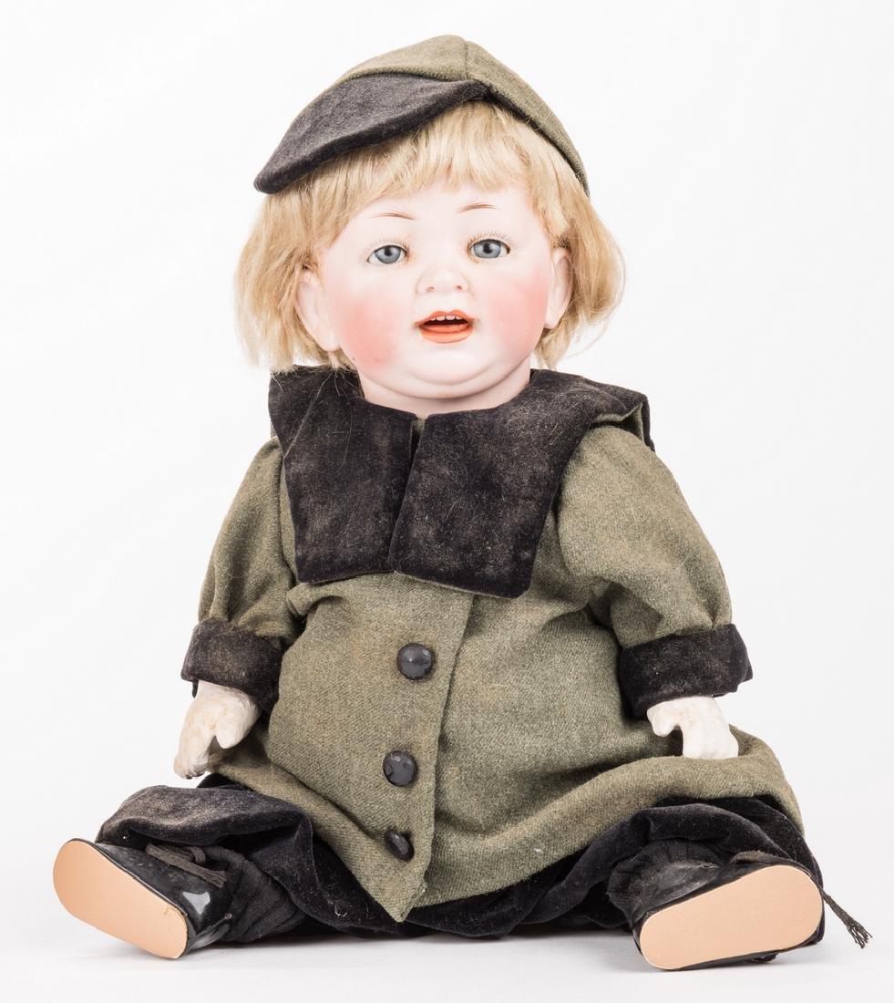 3 Male Bisque Dolls - 5