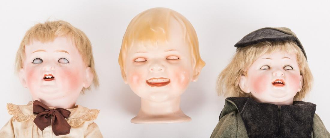 3 Male Bisque Dolls - 8