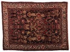 Antique Persian Afshar Area Rug