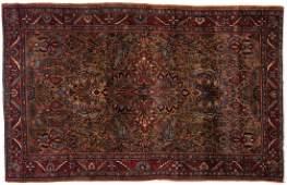 Antique Persian Sarouk Area Rug