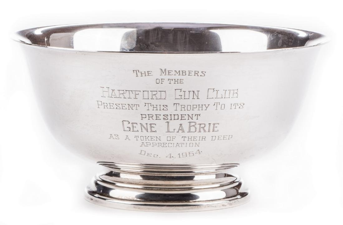 Paul Revere Reproduction Sterling Silver Bowl