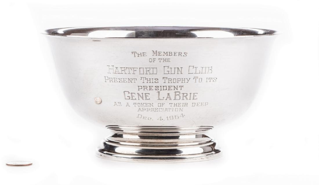 Paul Revere Reproduction Sterling Silver Bowl - 2