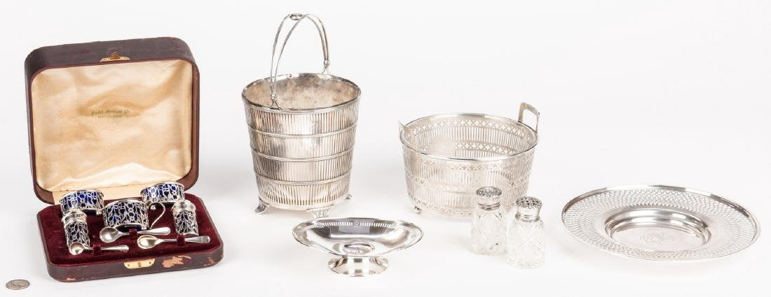Assembled Group Sterling Hollowware, 7 items