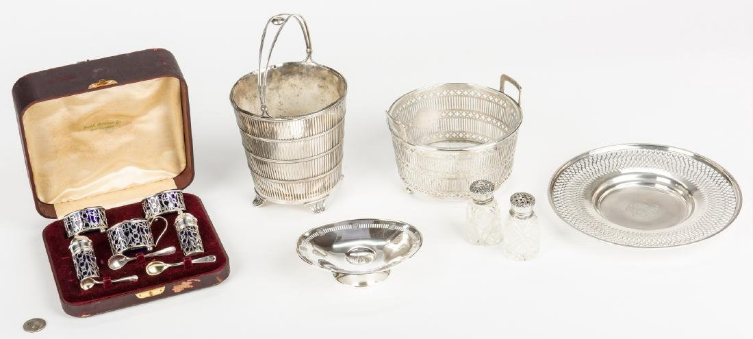 Assembled Group Sterling Hollowware, 7 items - 2