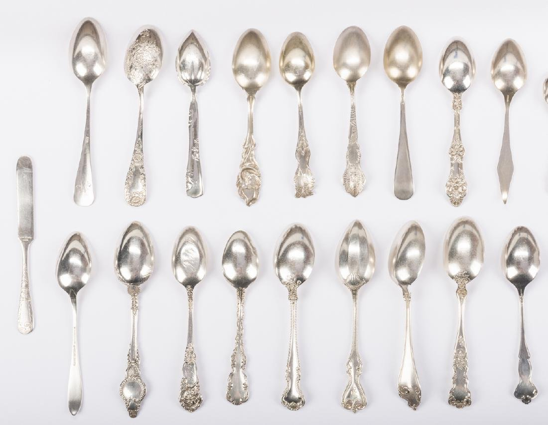 Vintage Sterling Souvenir Spoons plus more, 37 pcs - 6