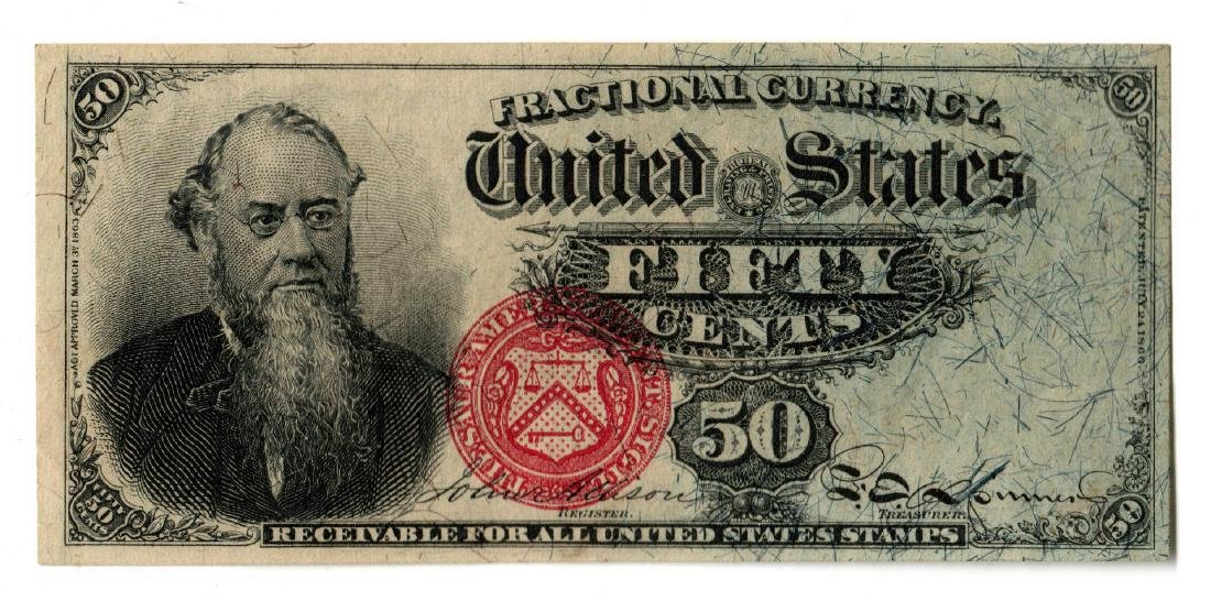 Fifty Cent U.S. Fractional Banknote, Fourth Issue