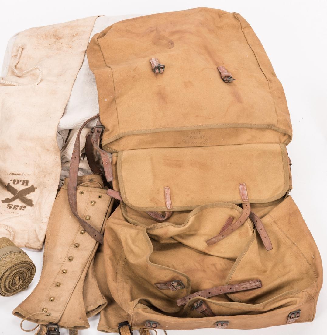 13 WWI U.S. Military Equipment Items, J. A. Newman - 8