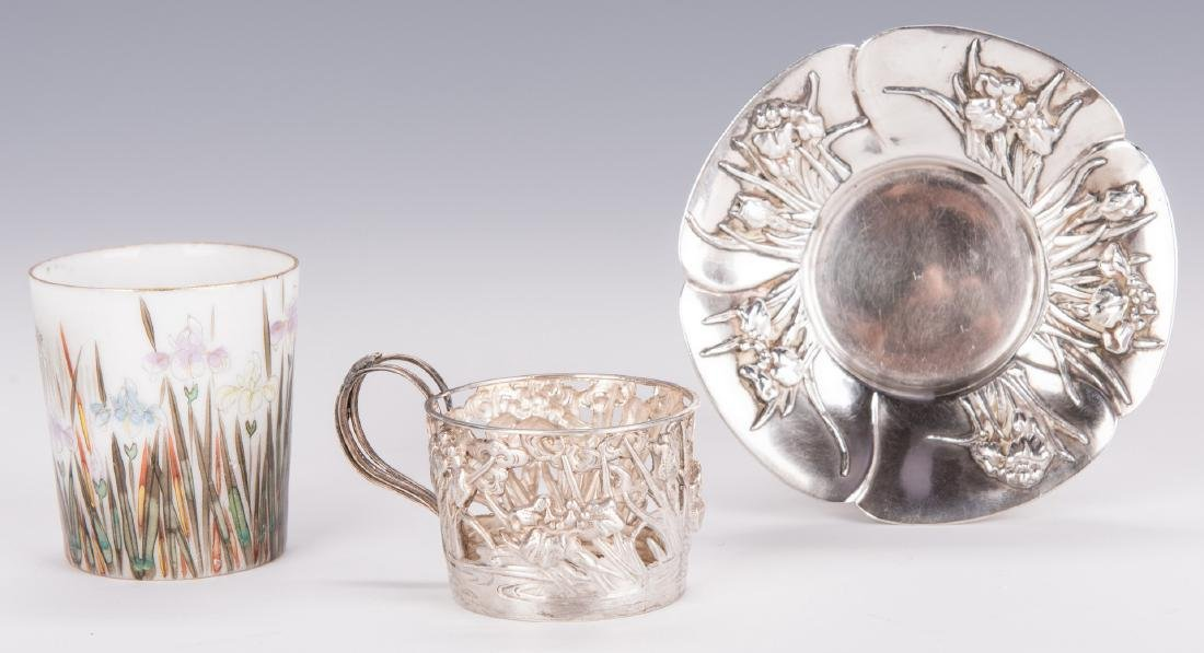 Sterling Silver Table Items & 12 Cut Glass Items - 12