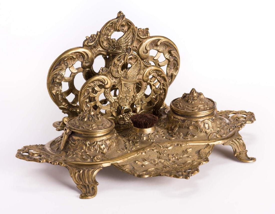 French Bronze Desk Set, 4 pcs - 3