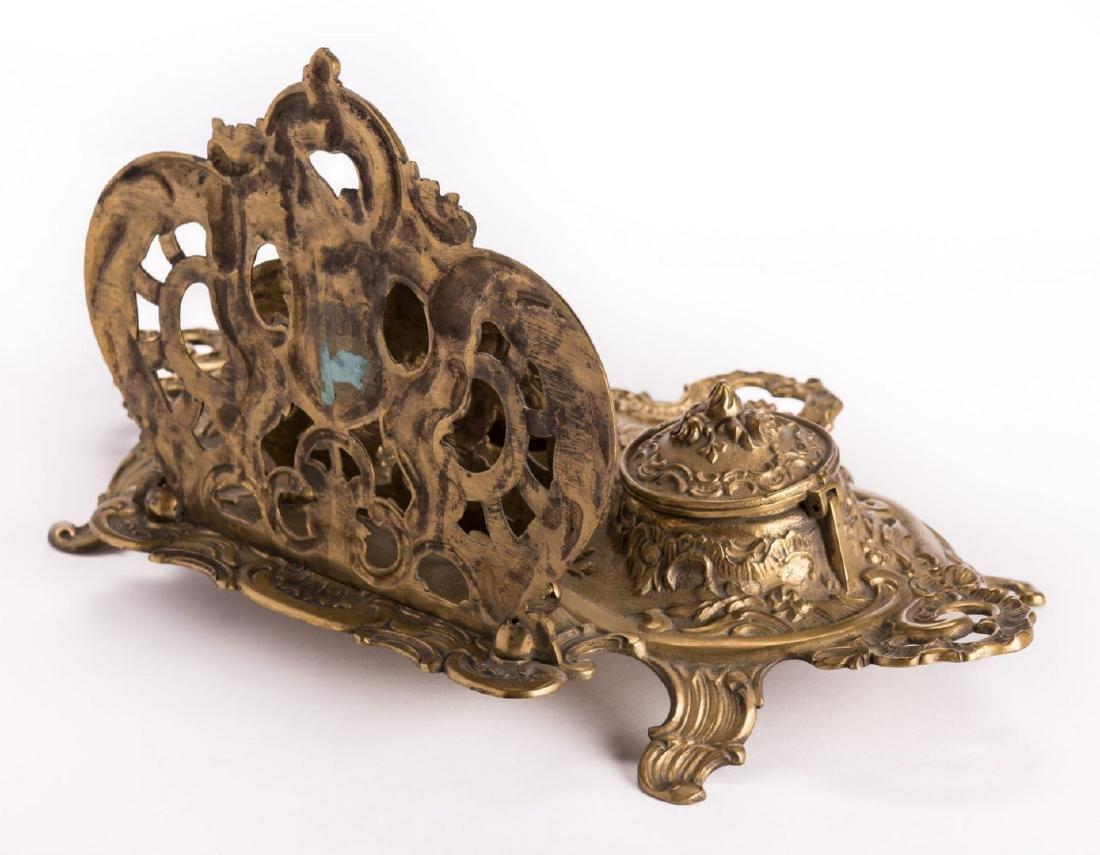 French Bronze Desk Set, 4 pcs - 5