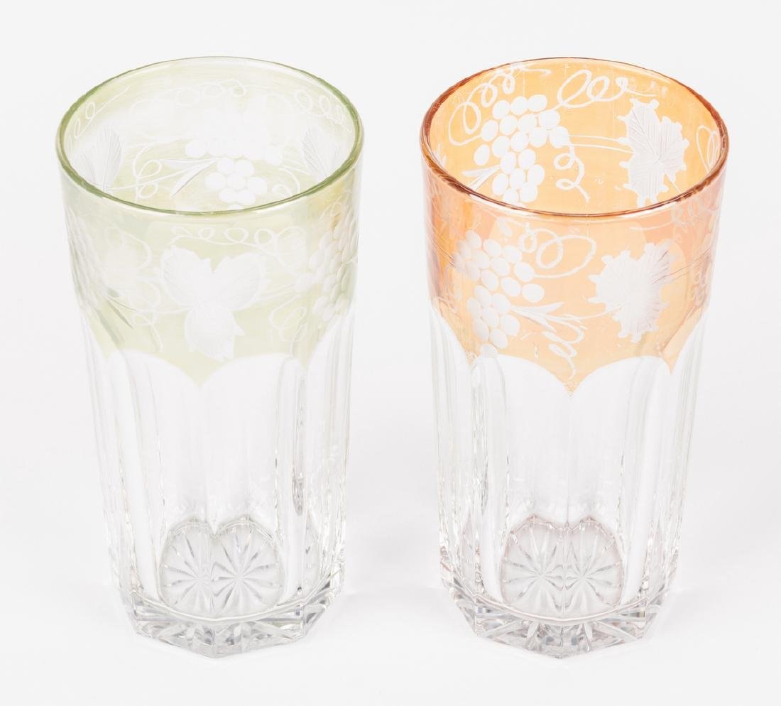Group of Decorative Glass Items & Tray, 14 pcs. - 10