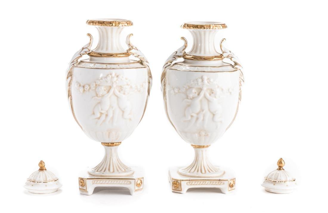 3 German Decorative Items, inc. Clock - 11