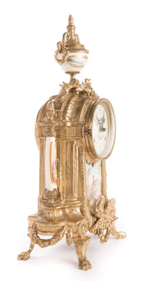 3 German Decorative Items, inc. Clock - 18