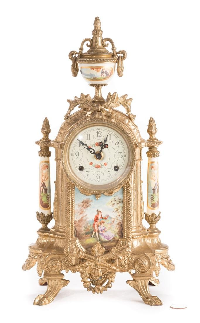 3 German Decorative Items, inc. Clock - 2