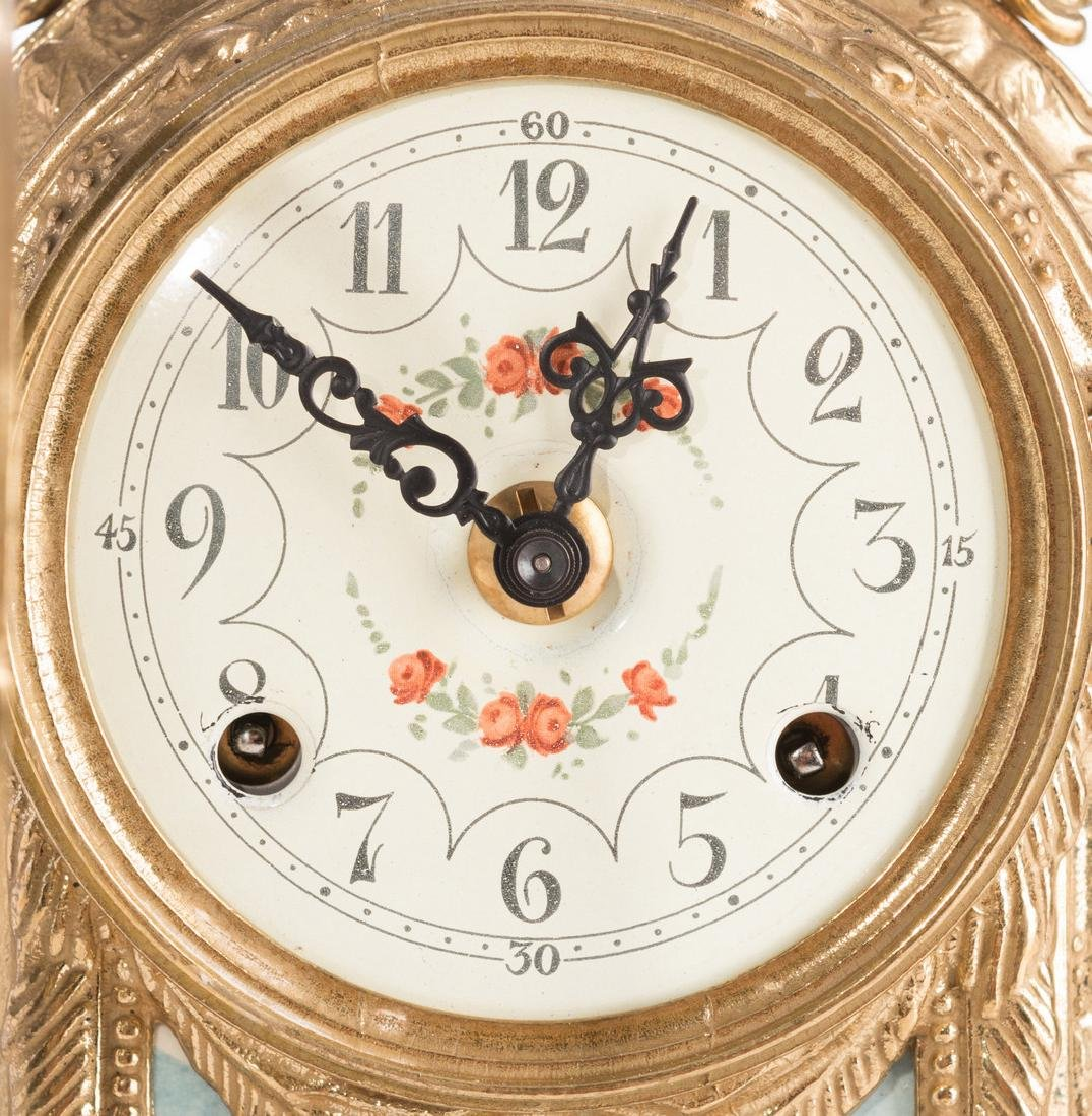 3 German Decorative Items, inc. Clock - 3