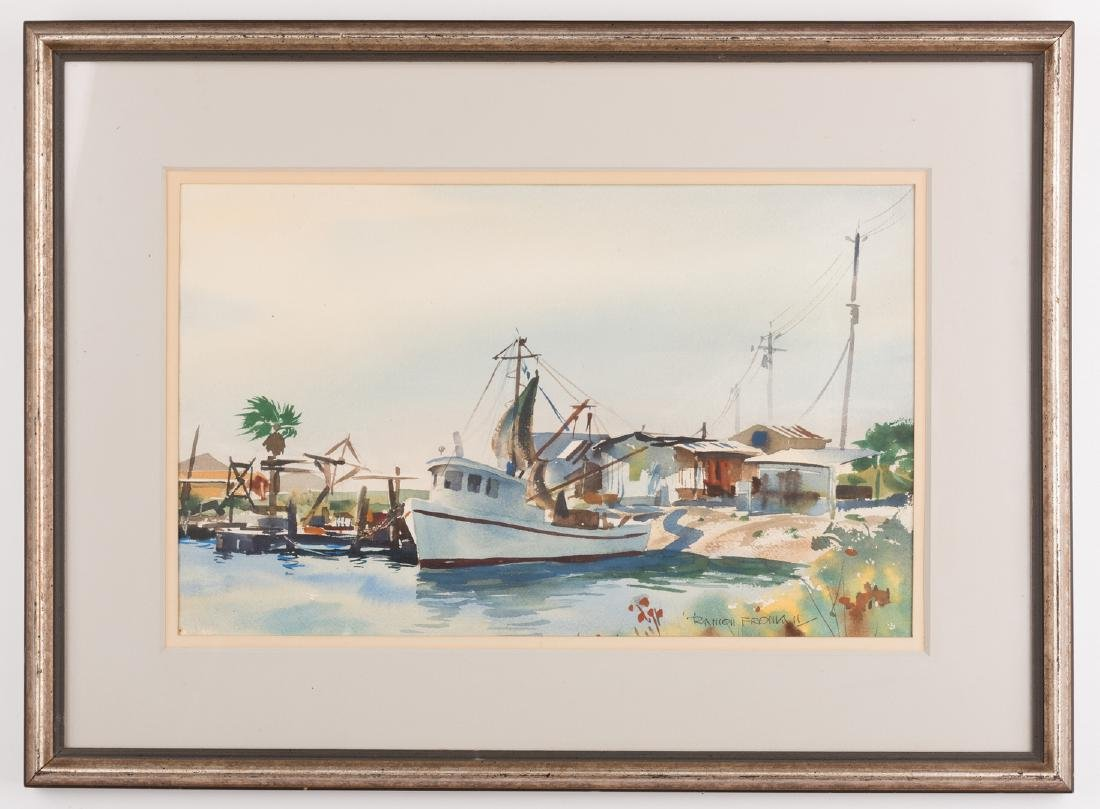"Ramon Froman W/C ""Galveston Bay"""