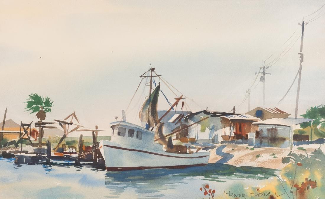 "Ramon Froman W/C ""Galveston Bay"" - 2"