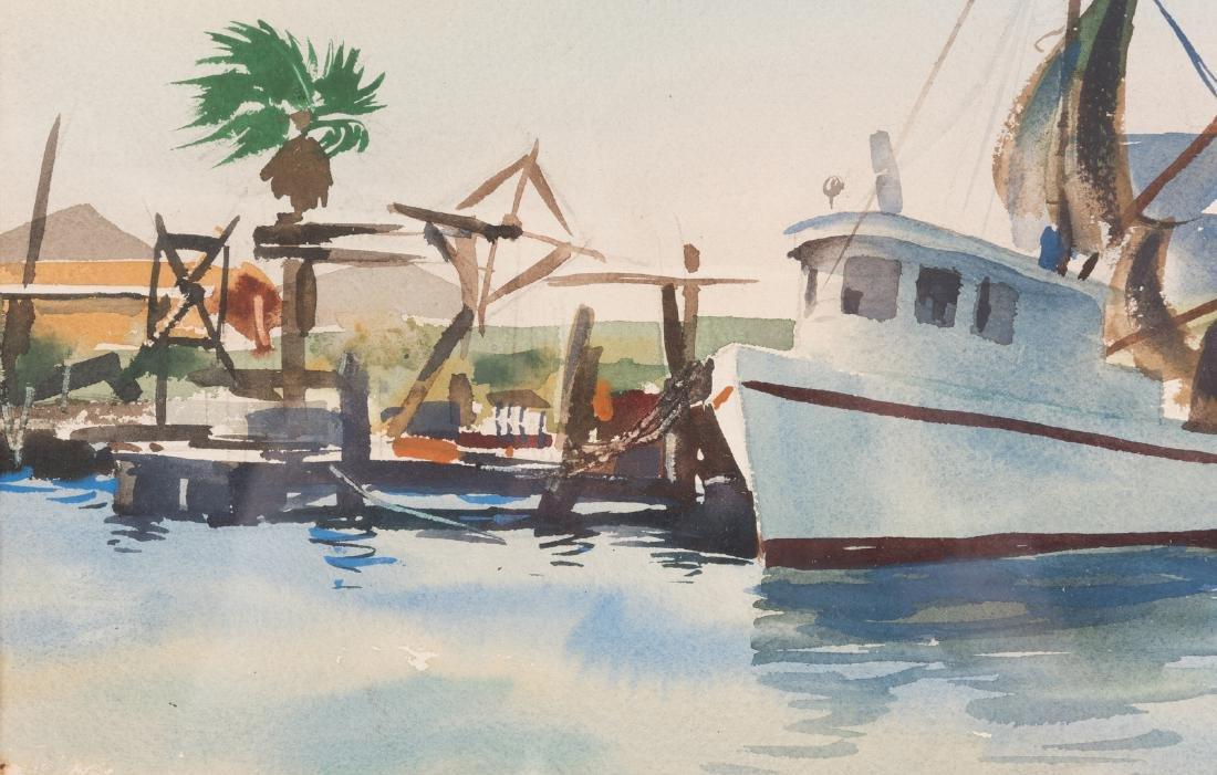 "Ramon Froman W/C ""Galveston Bay"" - 5"