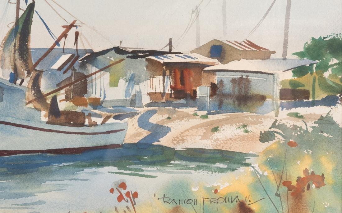 "Ramon Froman W/C ""Galveston Bay"" - 6"