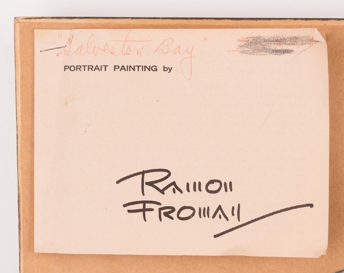 "Ramon Froman W/C ""Galveston Bay"" - 9"