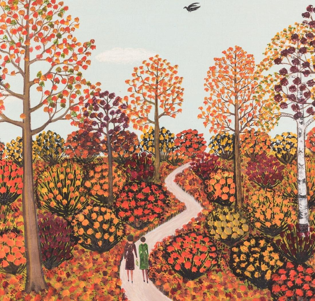 M. Korsak Painting - Autumn Landscape - 3