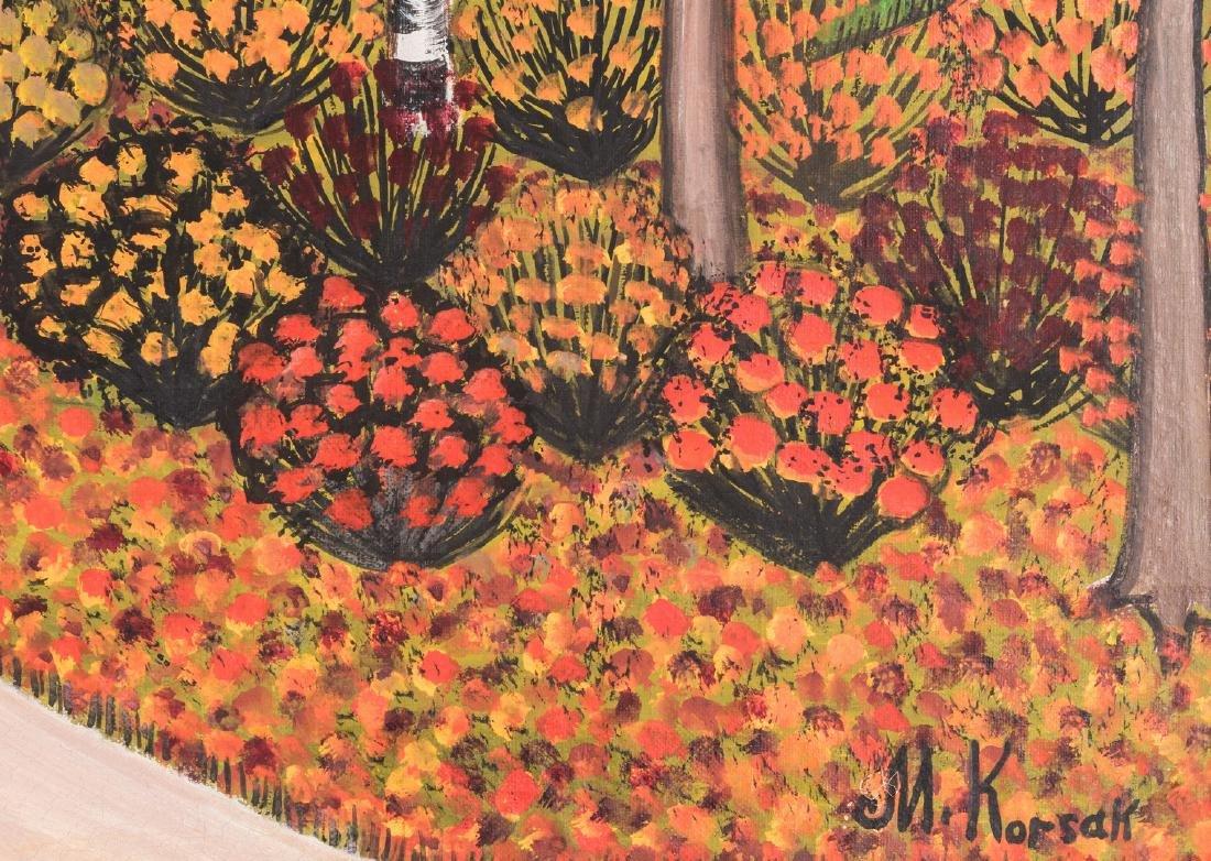 M. Korsak Painting - Autumn Landscape - 4
