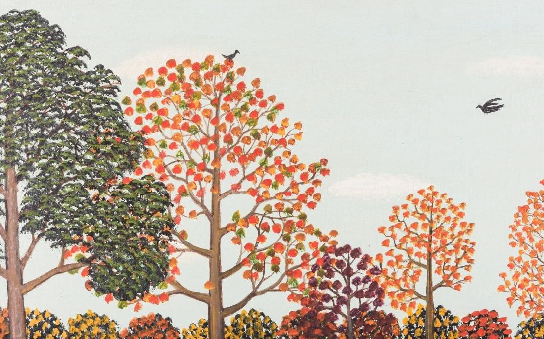 M. Korsak Painting - Autumn Landscape - 5