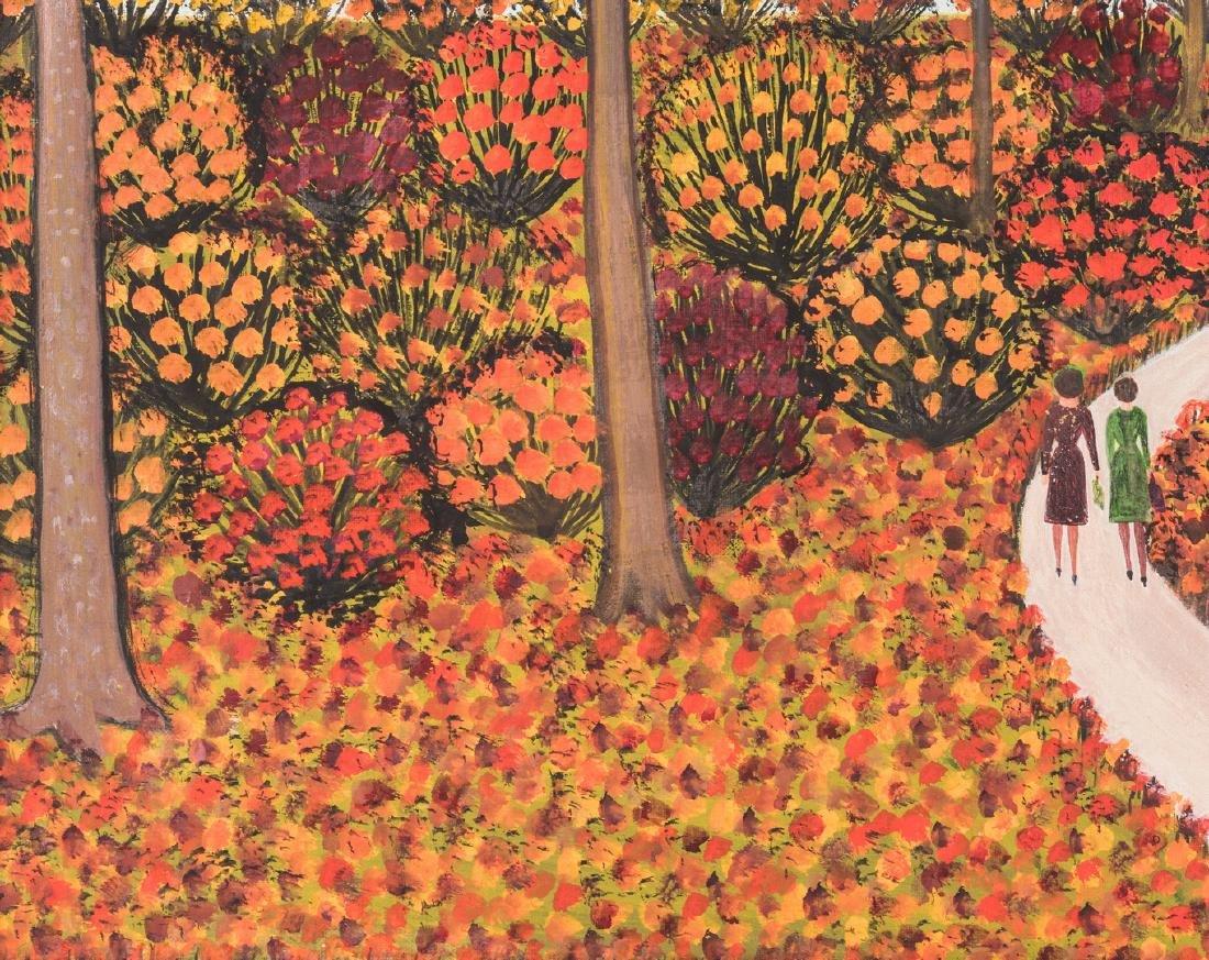 M. Korsak Painting - Autumn Landscape - 6