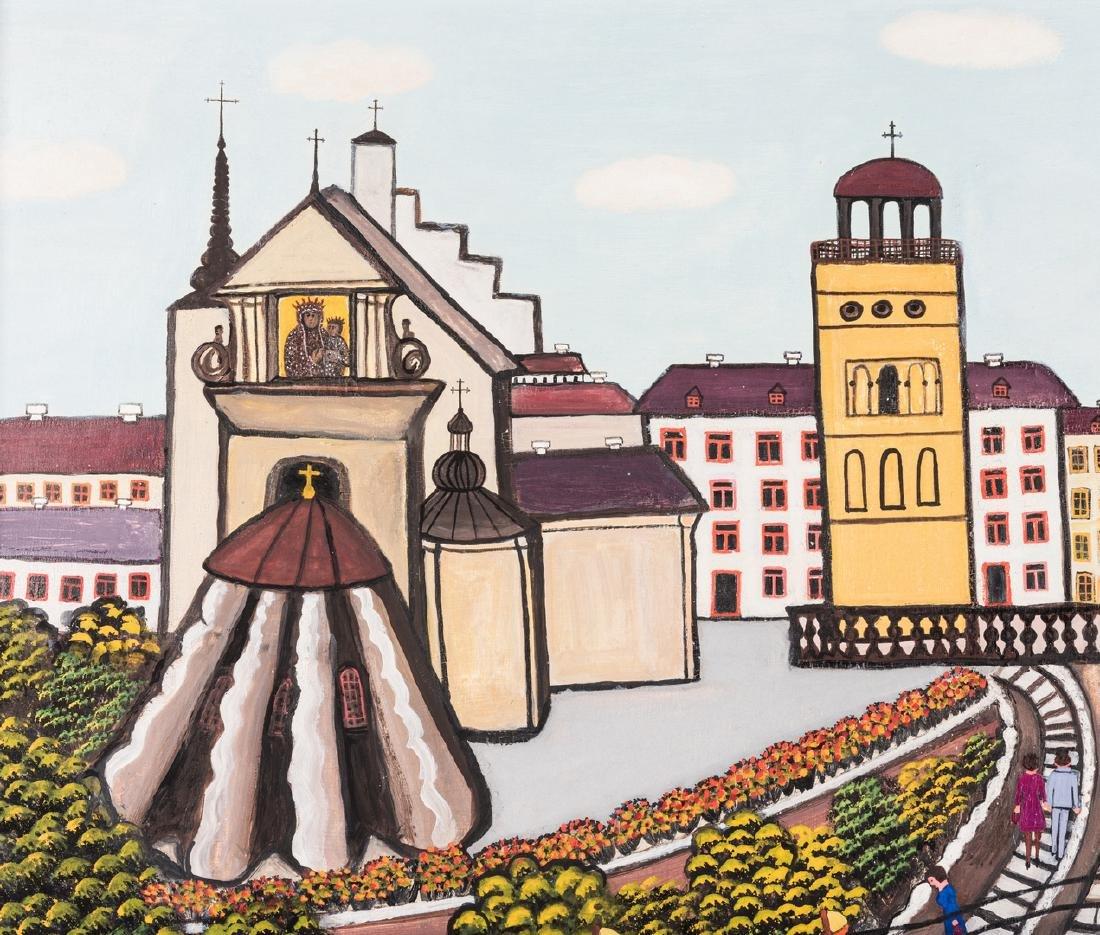 M. Korsak Painting  - Cityscape - 3