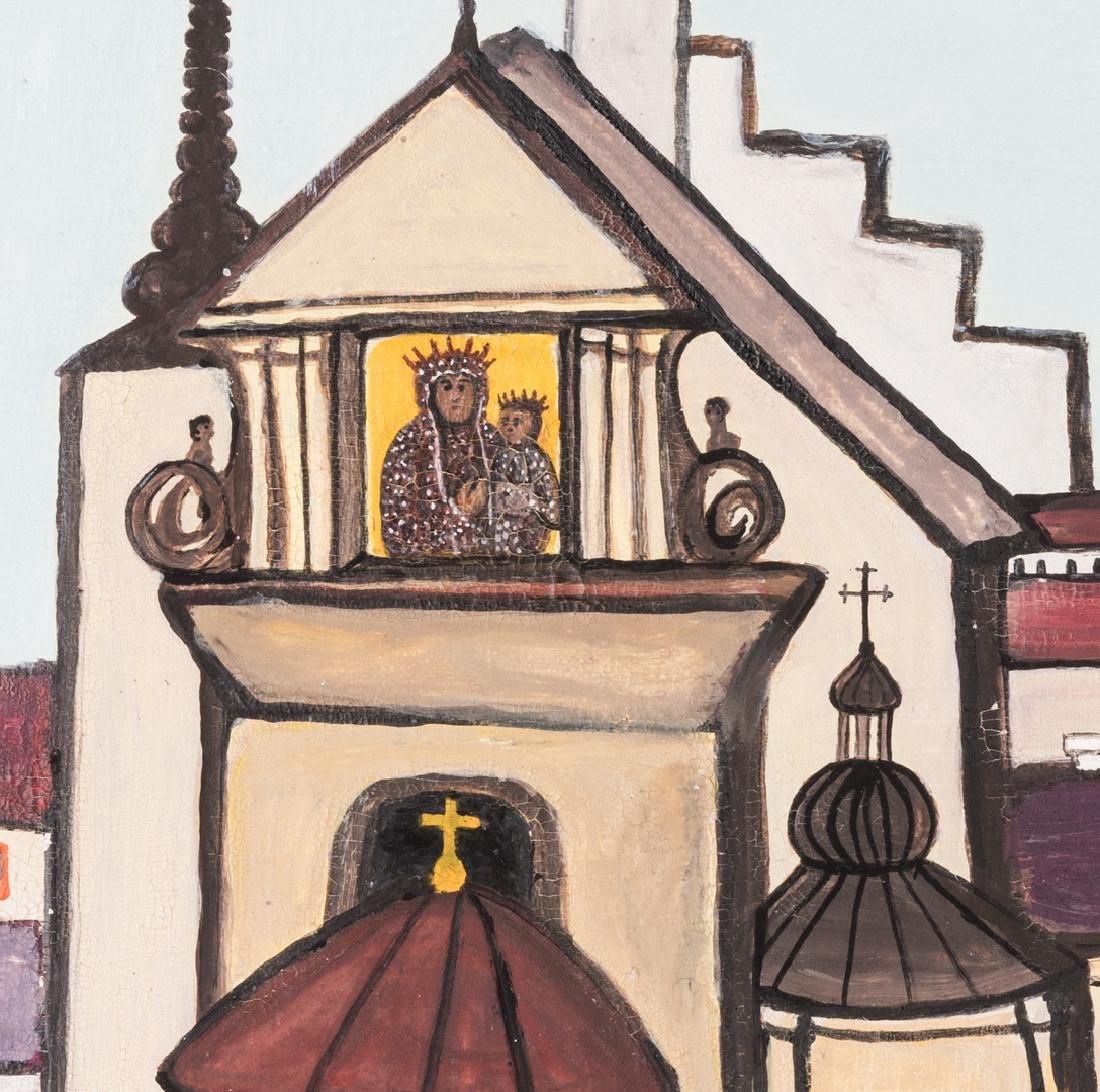 M. Korsak Painting  - Cityscape - 4