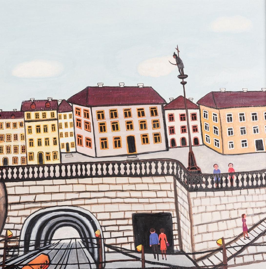 M. Korsak Painting  - Cityscape - 5
