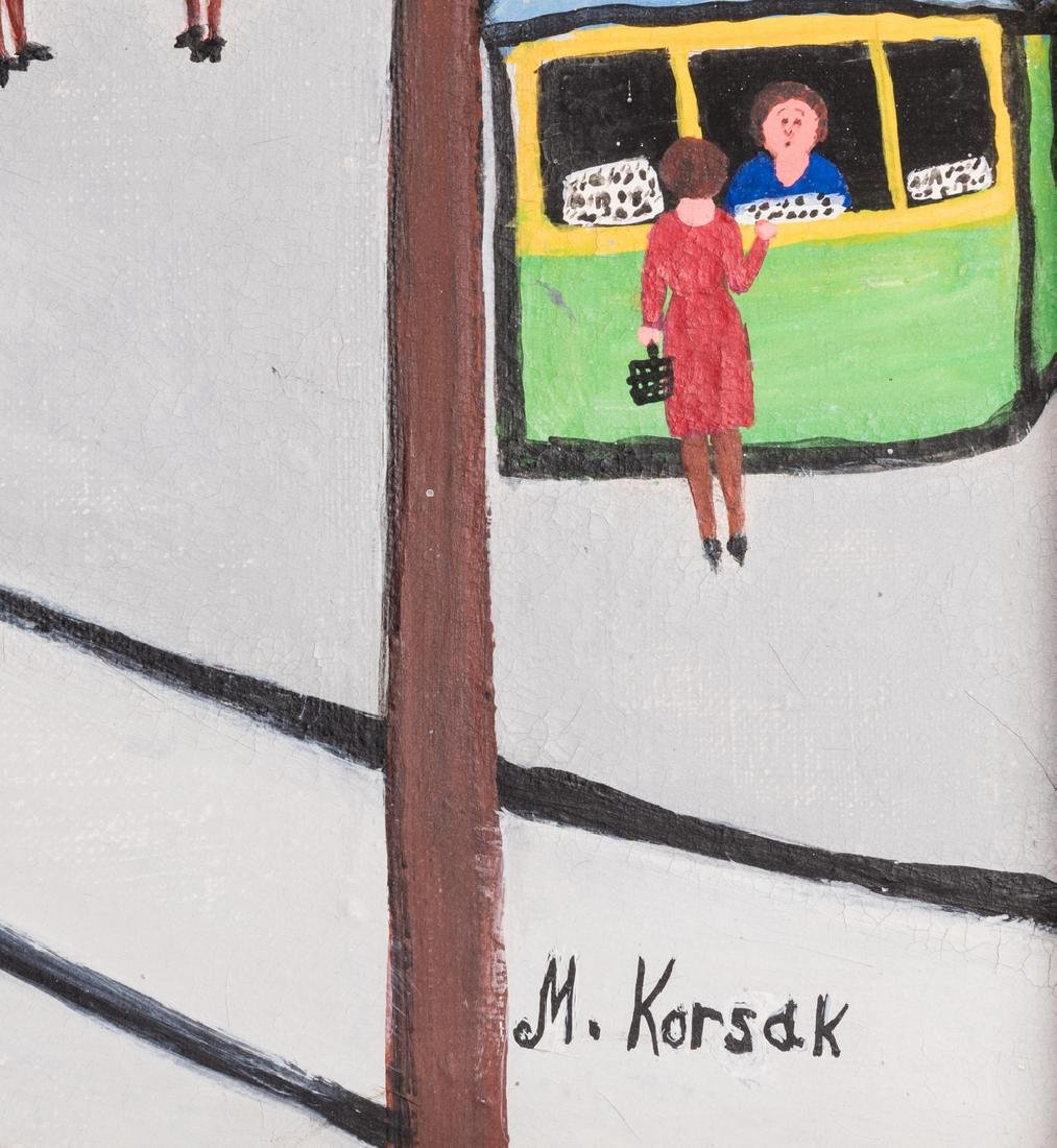 M. Korsak Painting  - Cityscape - 7