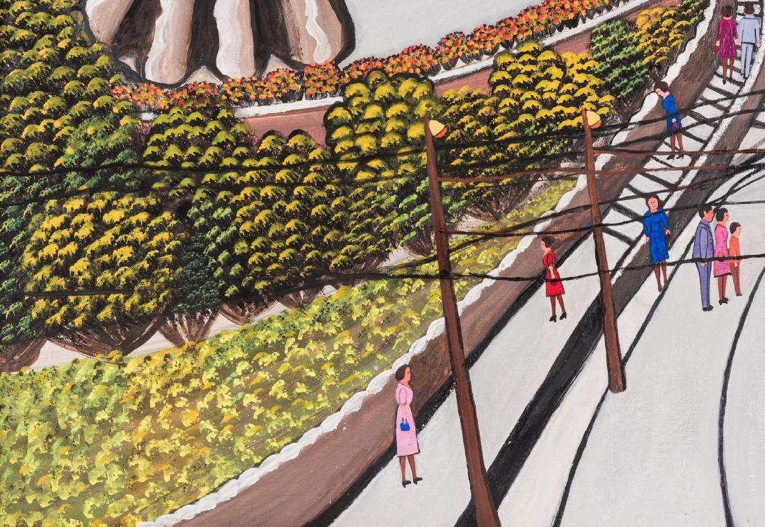 M. Korsak Painting  - Cityscape - 8