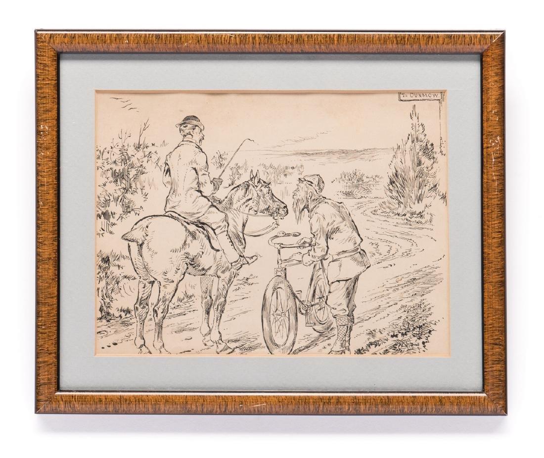 7 Henry Ardmore Sandercock Rural Ink Drawings - 3