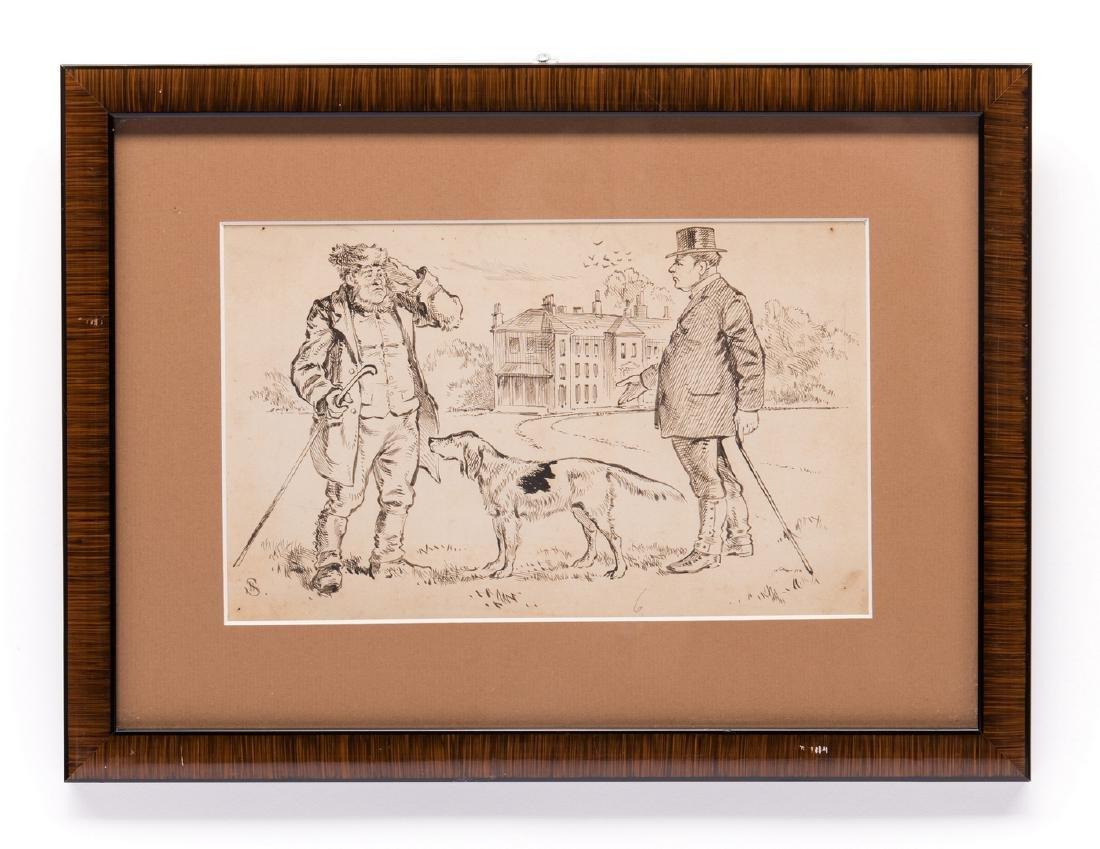 7 Henry Ardmore Sandercock Rural Ink Drawings - 6