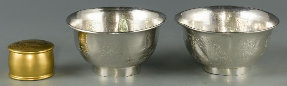6 Chinese & Asian Decorative Items, inc. Silver - 10