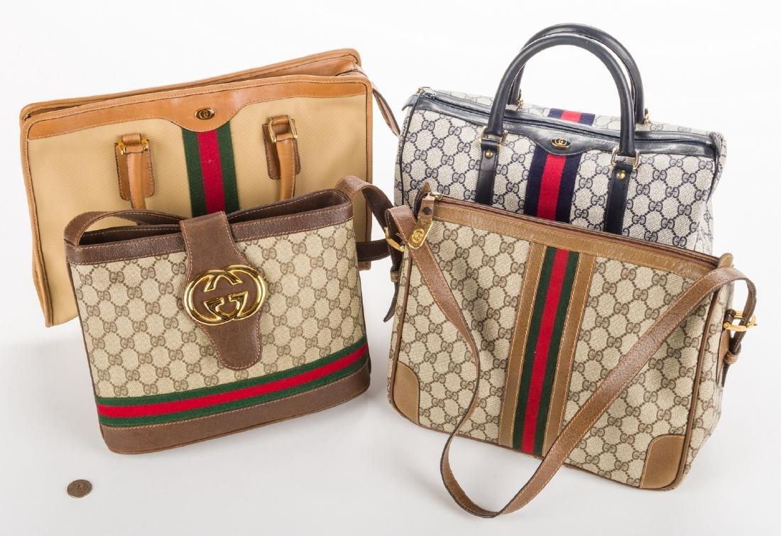 4 Vintage Gucci Handbags