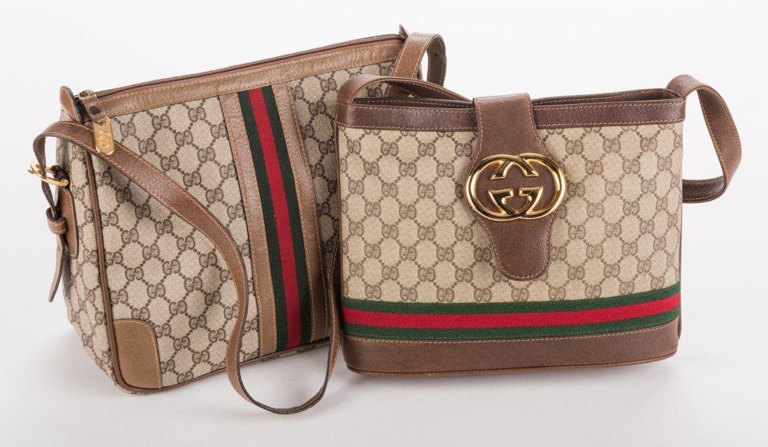 4 Vintage Gucci Handbags - 4