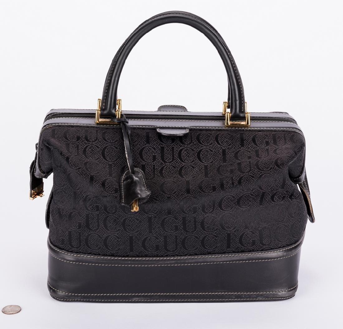 Black Gucci Doctor Bag